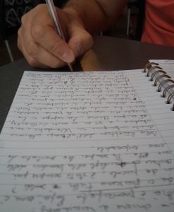 Processi di scrittura (ph. L. Taverna)