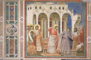 -La-cacciata-dei-mercanti-dal-tempio-Giotto-Cappella-degli-Scrovegni-Padova