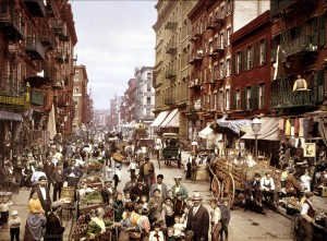 NYC, Mulberry street, 1900 ca.