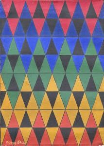 G. Balla, Compenetrazioni iridescenti, 1910