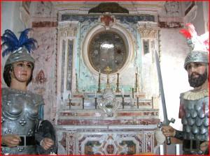 Altare maggiore Chiesa Matr'a Luci, Mistretta.