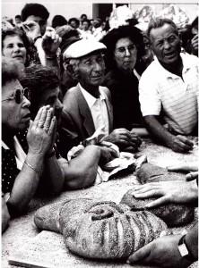 Benedizione del pane votivo, Naro (ph. Minnella)