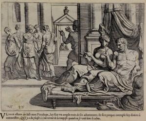 Il letto di Ulisse, Theodoor van Thulden sec. XVII.