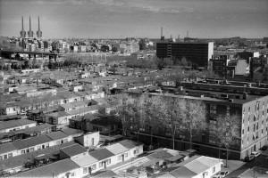 Il-quartiere-Bon-Pastor-e-in-prospettiva-il-centro-di-Barcellona