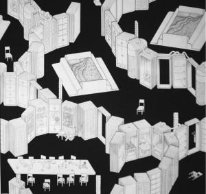 Sottsass,i i mobili e il nuovo spazio flessibile della casa, 1972