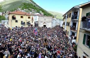 ITALY-RELIGION-PROCESSION