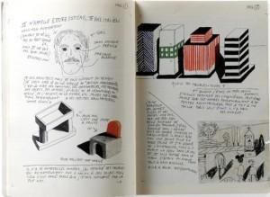Ettore Sottsass, notebook