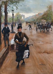 -jean-beraud-la-modiste-sur-les-champs-elysees-shopping-alla-fine-del-1800