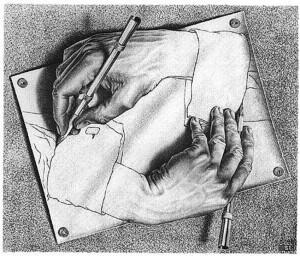 -mani-che-disegnano-escher-1948