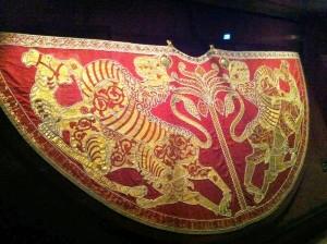 Il mantello di Ruggero II, 1133–1134, Vienna, Kunsthistorisches Museum