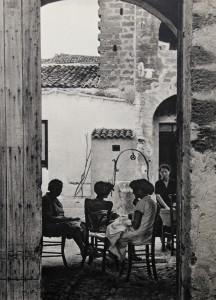 Baglio nel Trapanese, 1953 ( ph. R.Pestalozzo)