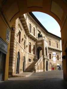 Fermo, palazzo dei Priori.