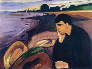 Munch, Malinconia, 1894