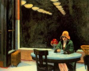 E. Hopper, Automat, 1923