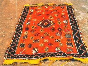 Tappeto marocchino (da Y.Samama)