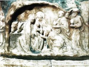 A. Gagini, Adorazione dei Magi, Caccamo,chiesa di S. Maria degli Angeli.