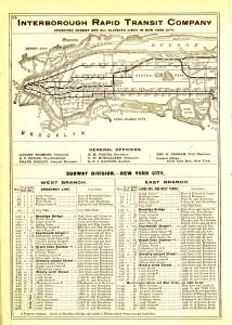 1906 Subway ed elevated map