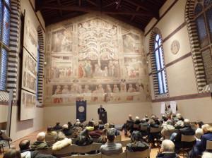 """Firenze. Opera di Santa Croce """"Firenze e l'eredità culturale del patrimonio religioso"""" 15 dicembre 2017 (ph. O. Niglio, 2017)."""
