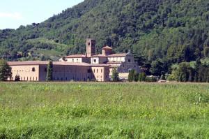 Abbazia Praglia, monastero benedettino nel comune di Teolo e in prossimità di Abano Terme, Padova (ph. O. Niglio, 2016).