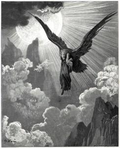 Paul Gustave Doré, Purgatorio IX, 1861-68