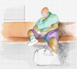 A NYC pur essendoci molte persone sovrappeso ci sono meno obesi che nel resto dell'America.