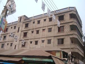 Madaripur, Casa costruita con le rimesse dall'Italia.