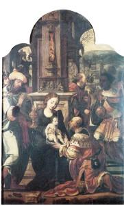 Adorazione dei Magi, Galleria Regionale, Palermo