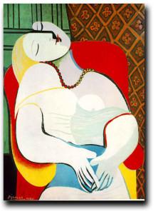 Pablo Picasso, Le Rêve, 1932.