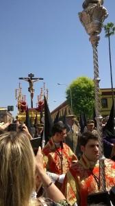 Il paso del Cristo de la Seda Puerta de la Carne (ph. Burgaretta).
