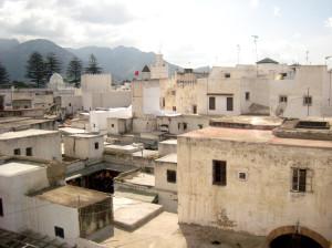 La medina di Tetuán, Una vista panoramica. (Olimpia Niglio, 2009)
