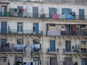 Il quartiere popolare di Algeri Bab el-Oued che Sénac amava frequentare (ph. Guidantoni).