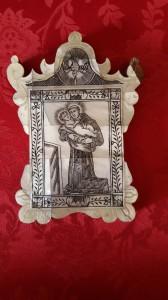 Sant'Antonio, bottega siciliana, fine sec. XVIII