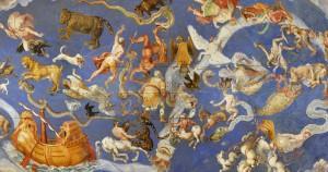 Mappa delle costellazioni di Zuccari, 1566, Palazzo Farnese.