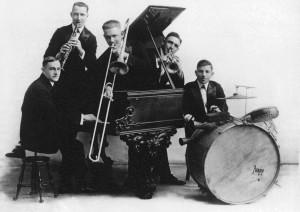 Nick La Rocca e la sua band, anni 20.j