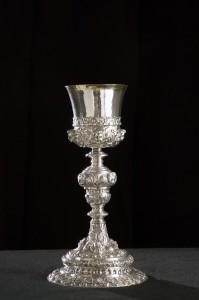 Calice, fine sec.XVII, Museo Diocesano Mazara.j