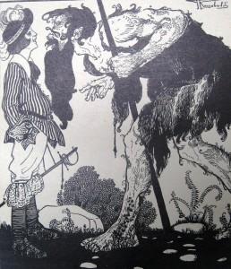 G. Riccobaldi per Cammina, cammina, cammina... di A. Albertazzi (1920).