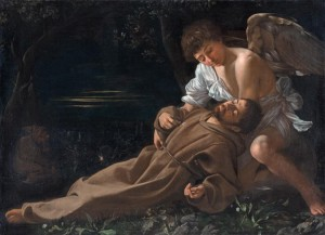 San-Francesco-in-estasi-Caravaggio-1594.