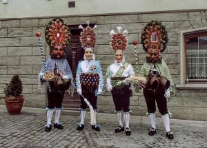Roller e Scheller di Imst con il Gröll e il Gschall.
