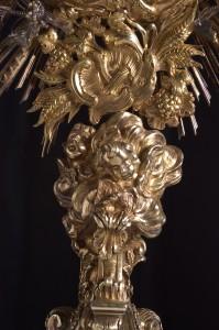 Part. Ostensorio, 1769, Museo Diocesano Mazara del Vallo