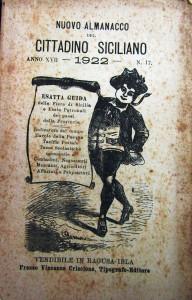 Nuovo almanacco del cittadino siciliano. 1922. Ragusa Ibla, 1921 (coll. Lombardo