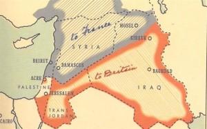 La-sistemazione-del-Medio-Oriente-dopo-la-Prima-Guerra-Mondiale