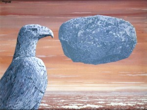 René-Magritte-La-connaissance-Absolu-1965.