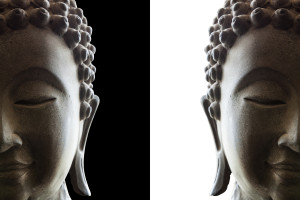 http://www.dreamstime.com/stock-photography-head-buddha-white-black-background-image39922902