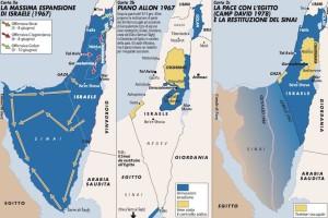 -fasi-di-espansione-di-israele-dopo-la-guerra-dei-sei-giorni
