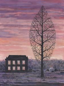 René Magritte, La recherche de l'absolu, 1963.