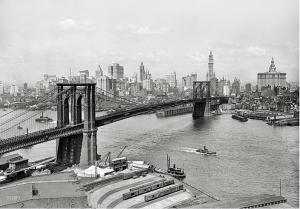 Skyline NYC, 1920