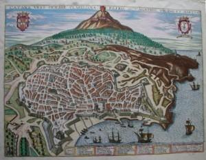 Catania-urbis-clarissima-patria-sanctae-Agathae-virginis-et-martiris-in-G.-Braun-F.-Hogenberg-Civitates-orbis-terrarum-1597.
