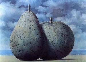 René-Magritte-La-grande-Table-1965.