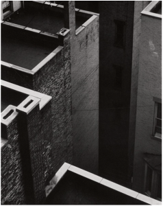 The Court, New York, Paul Strand, 1924.