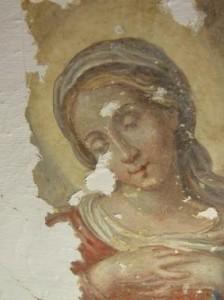 Volto-di-Madonna-affresco-nel-convento-di-Santa-Caterina-da-Siena-al-Rosario